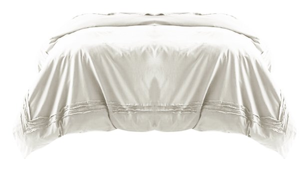Joey Washed Percale Duvet Set queen