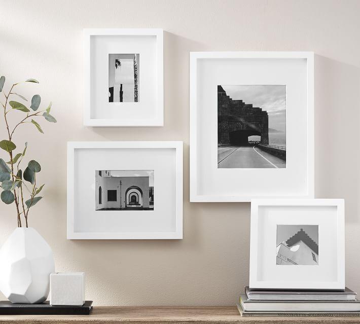 Wood Gallery, 8x10 - Modern White