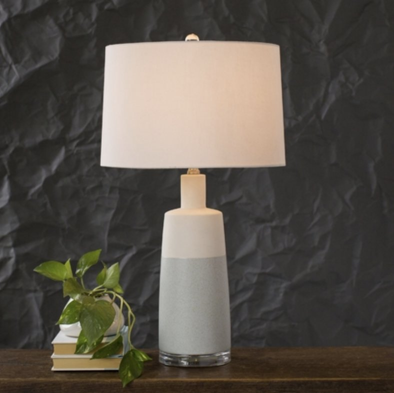 PIPER TABLE LAMP, BLUE