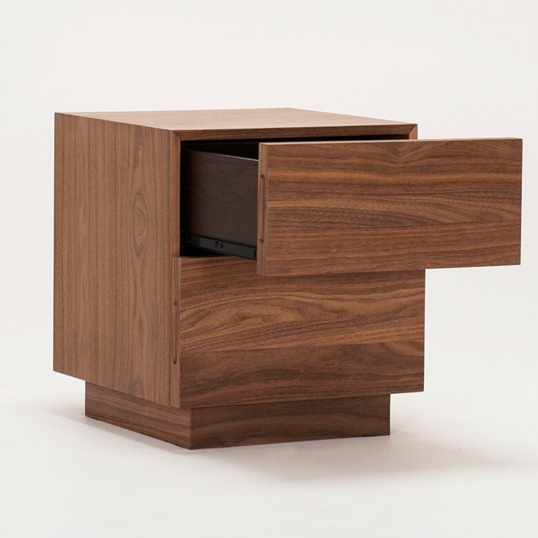 Boom End Table With Storage