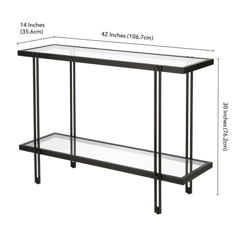 """Lorain 42"""" Console Table"""