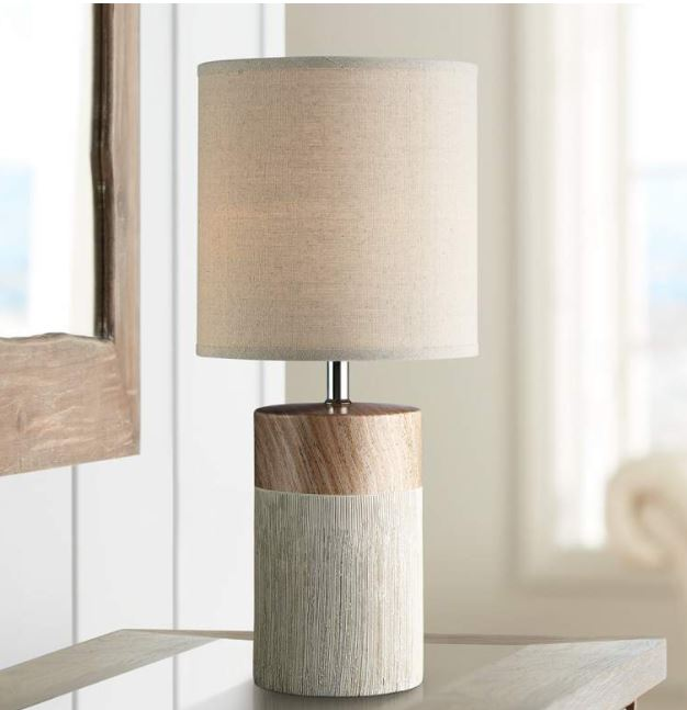 """Lite Source Helena 18 1/2""""H Light Brown Accent Table Lamp - Style # 69R41"""