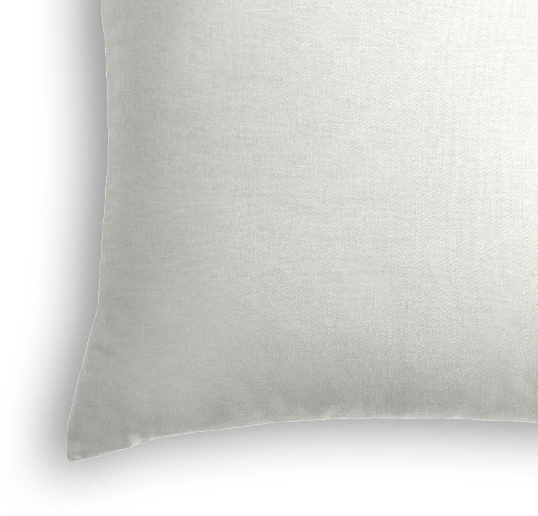 """Classic Linen Pillow, Ivory, 20"""" x 20"""""""