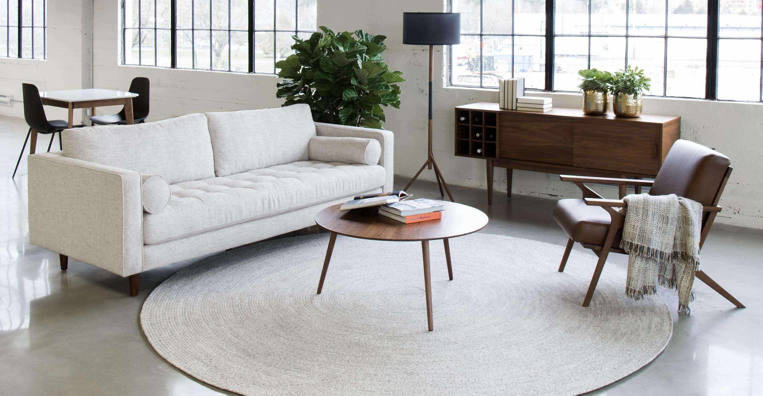 Sven Birch Ivory Sofa
