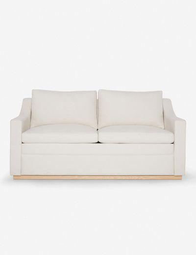 Coniston Linen Sleeper Sofa, Natural By Ginny Macdonald Queen