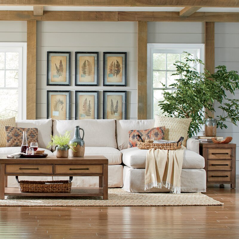 """Leisure 121"""" Sectional - Left Hand Facing"""