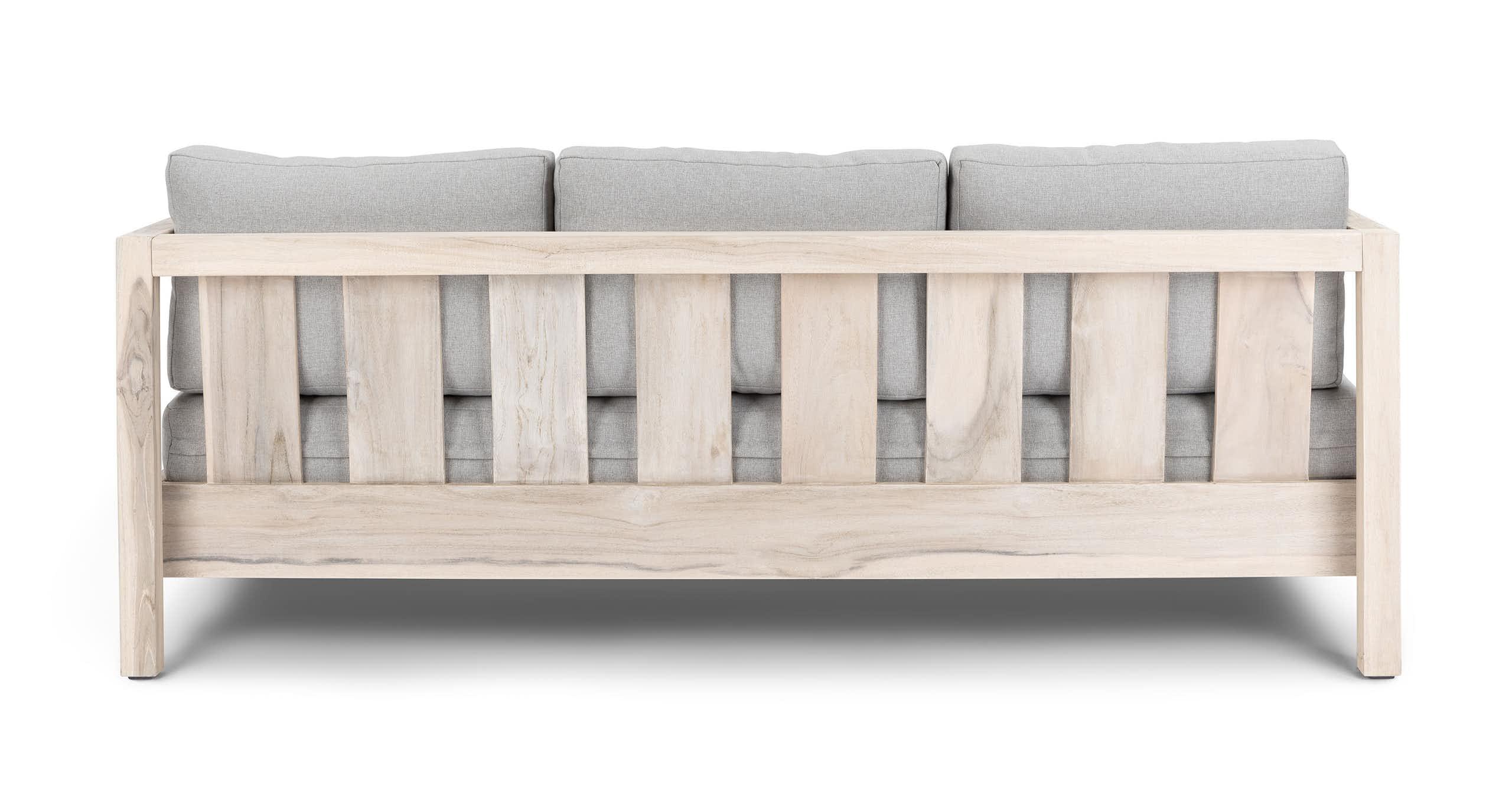 Arca Driftwood Gray Sofa