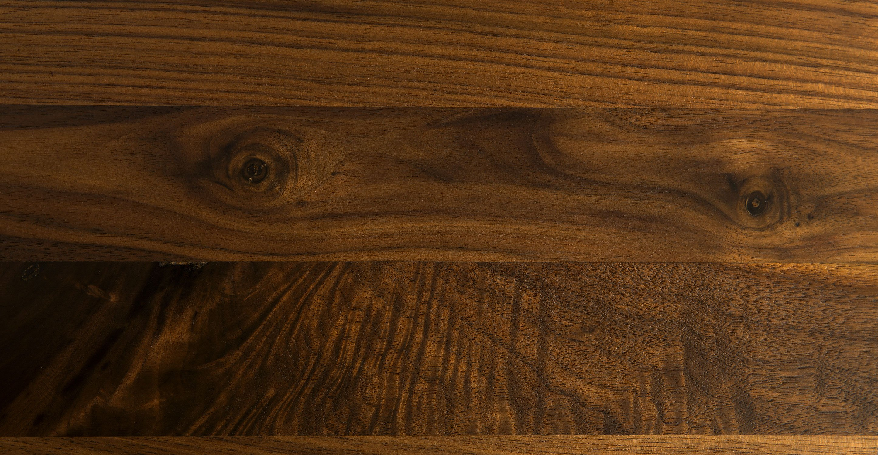 Seno Walnut Round Dining Table for 3-4 people