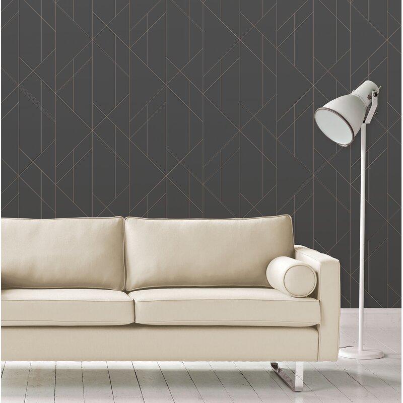 """Shunk 33' L x 20.5"""" W Wallpaper Roll"""