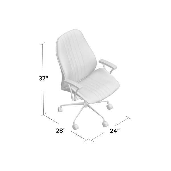 Kirbyville Genuine Leather Task Chair