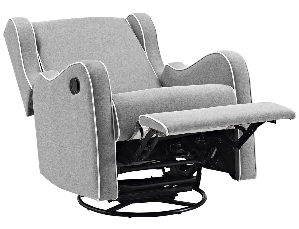 Rowe Upholstered Manual Reclining Glider Recliner