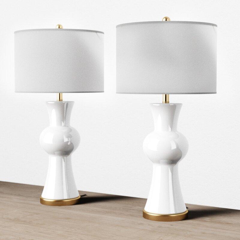 "Santos 30"" Table Lamp Set"