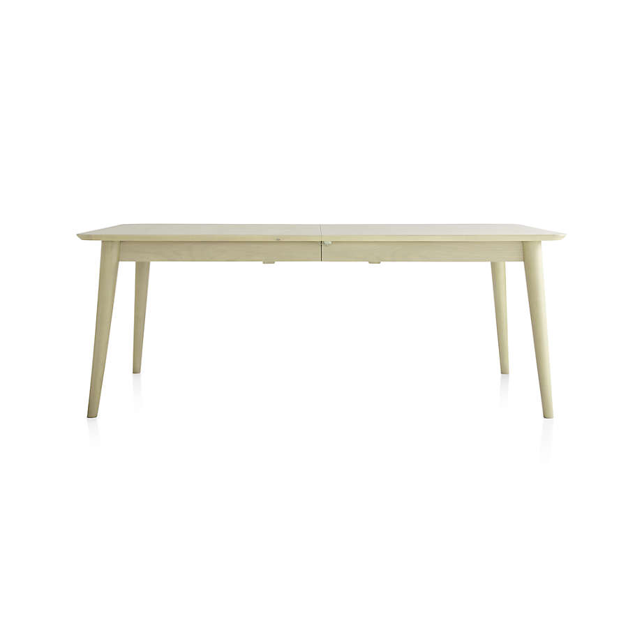 Tate Sand Extendable Midcentury Dining Table