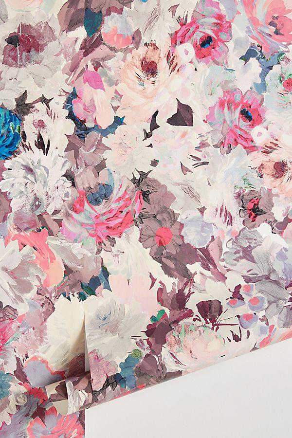 Helen Dealtry Aquarelle Floral Wallpaper