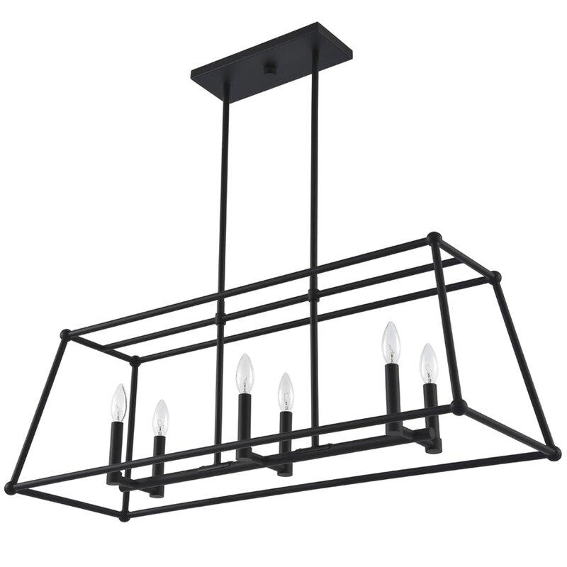 Mher 6 - Light Lantern Square / Rectangle Chandelier