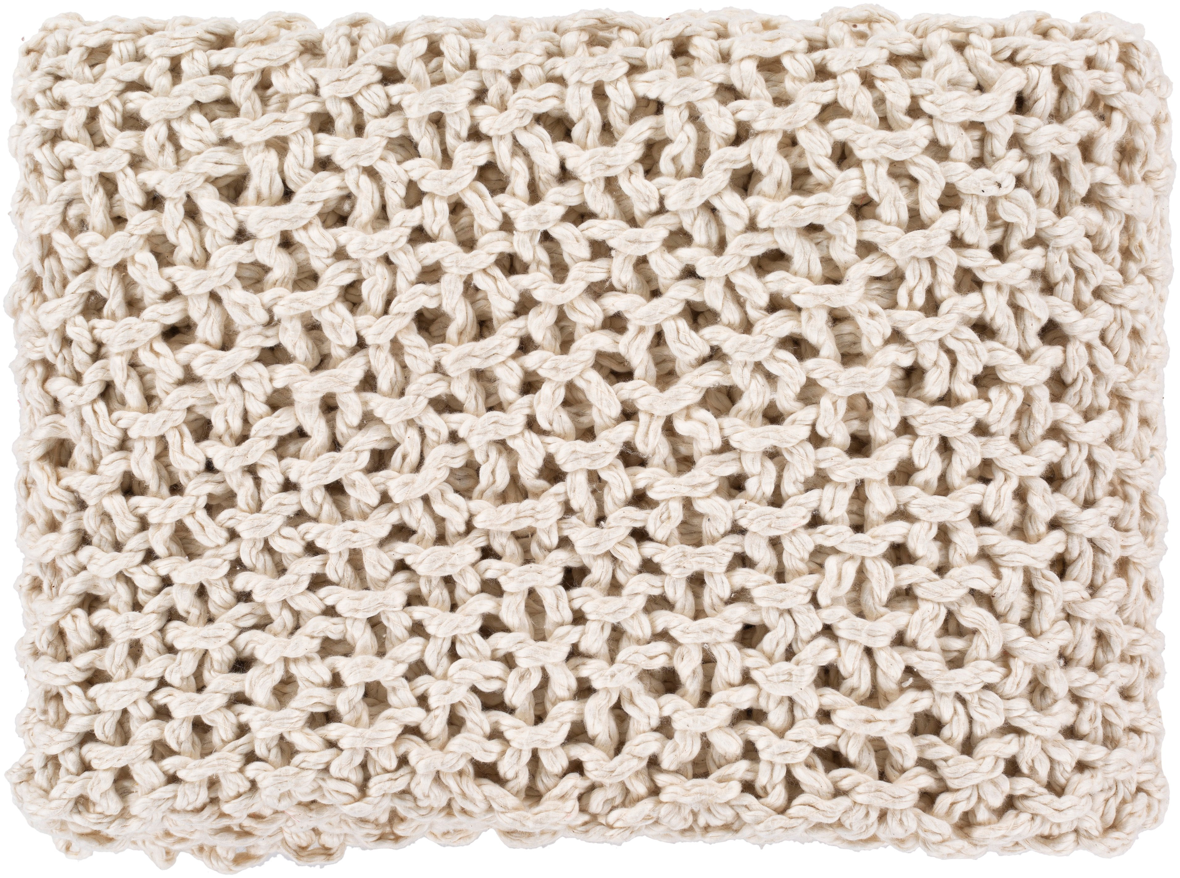 Cozy Knit Throw, Natural
