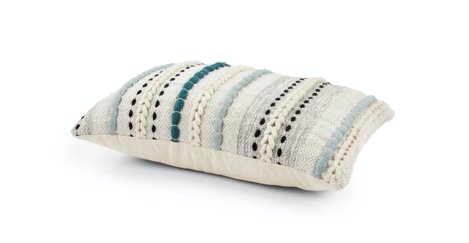 Stitch Aqua Pillow