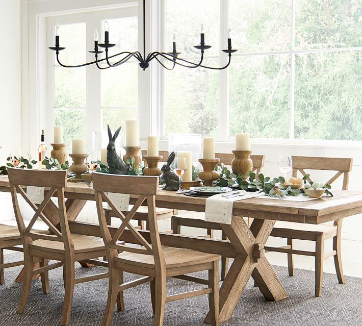 "Toscana Extending Dining Table- Seadrift- 60"" - 84"" L"