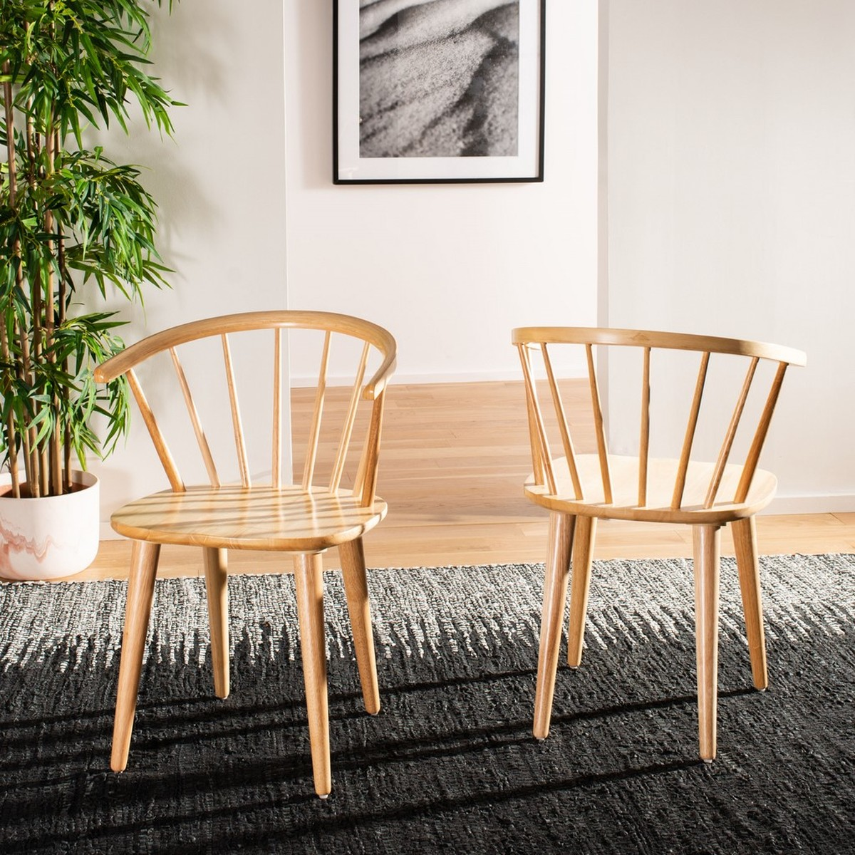Helka Chair, Natural, Set of 2