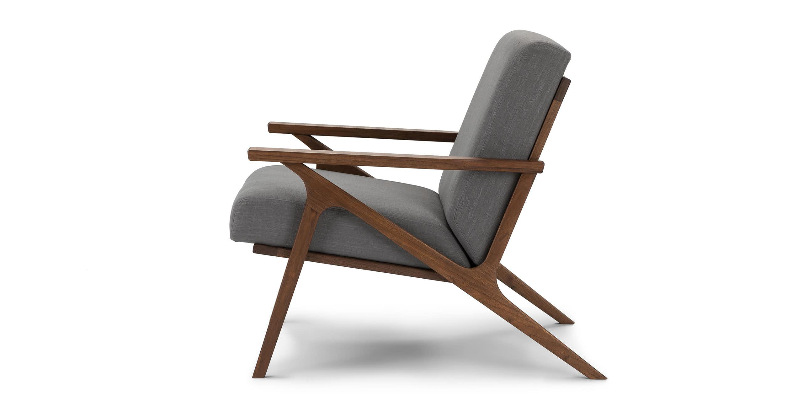 Otio Thunder Gray Lounge Chair