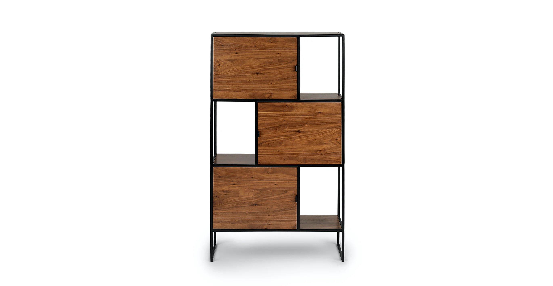 """Rictu Walnut 48"""" Bookcase"""