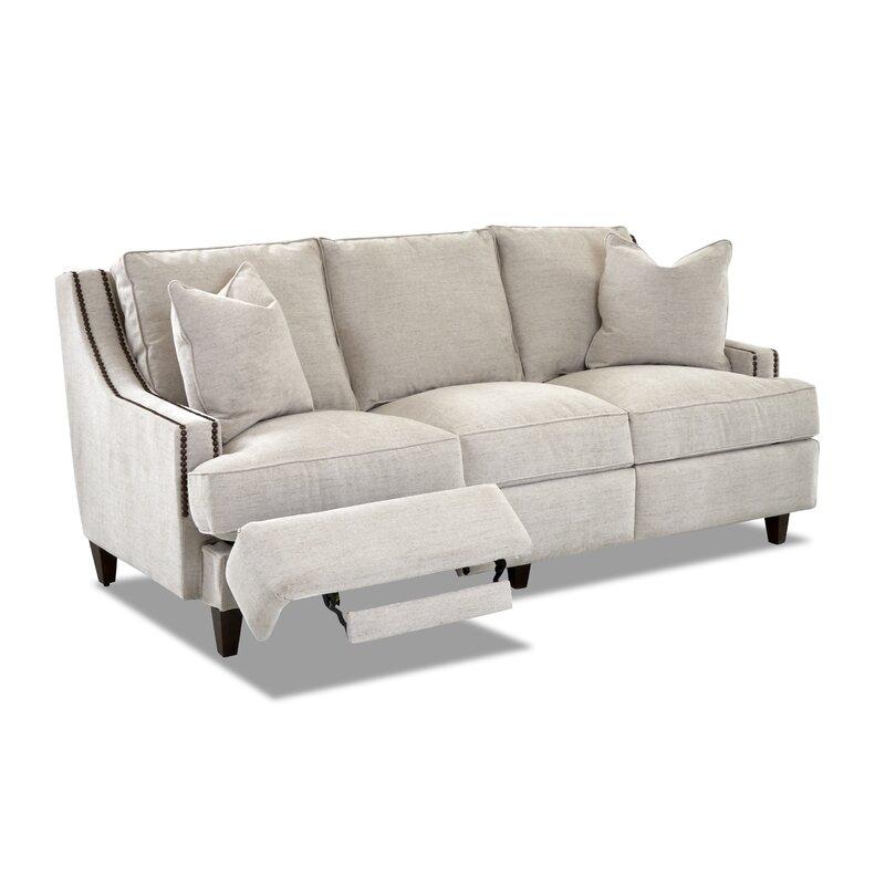 "Logan Reclining 83"" Recessed Arm Sofa"