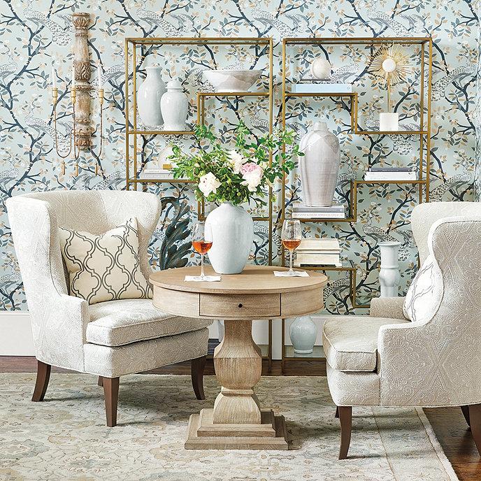Ballard Designs Doran Side Table