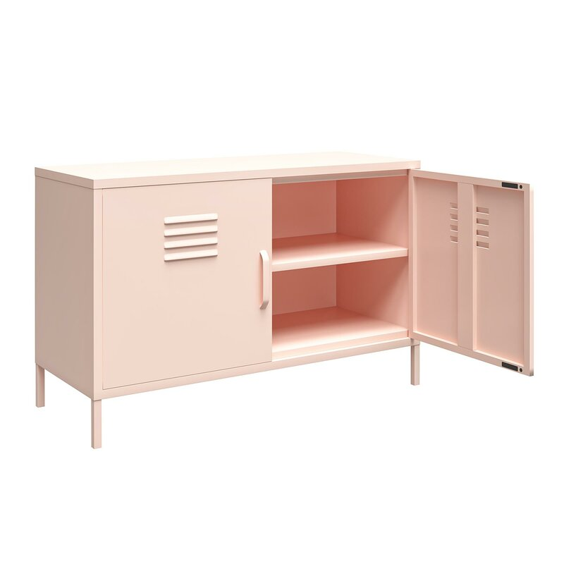 Antkea 2 Door Accent Cabinet