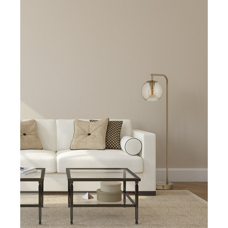 """Hingham 58.5"""" Arched Floor Lamp"""