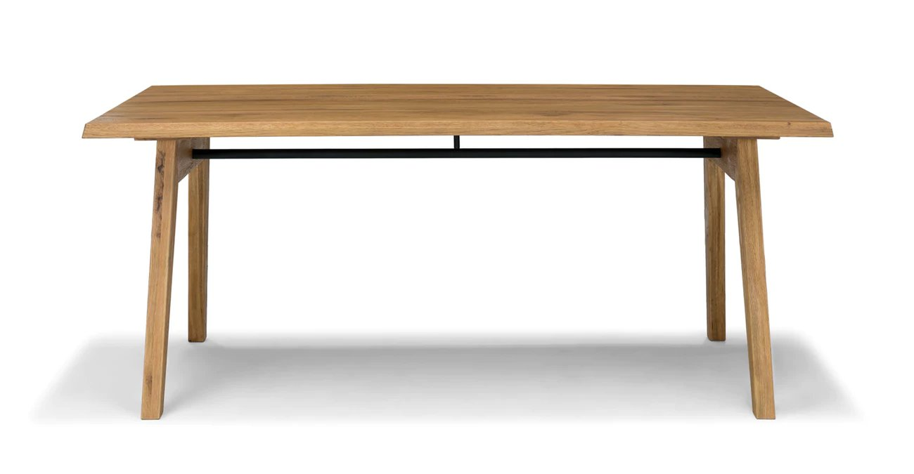 Madera Oak Dining Table For 6