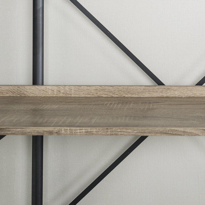 Swindell Etagere Bookcase / Driftwood