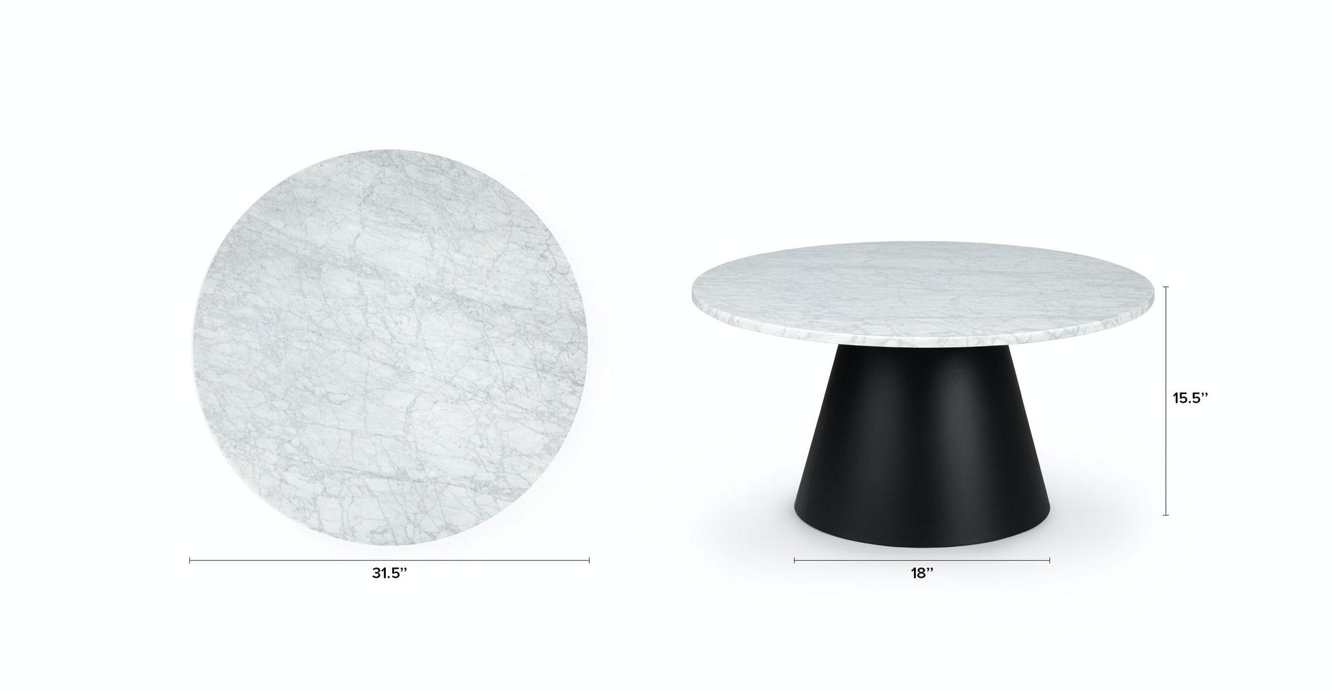 Tromso Black Coffee Table