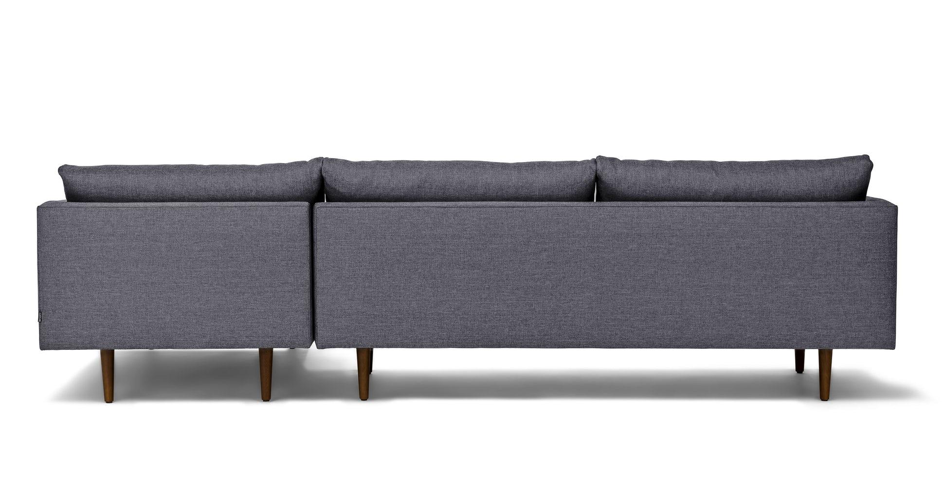 Burrard Stone Blue Right Sectional Sofa