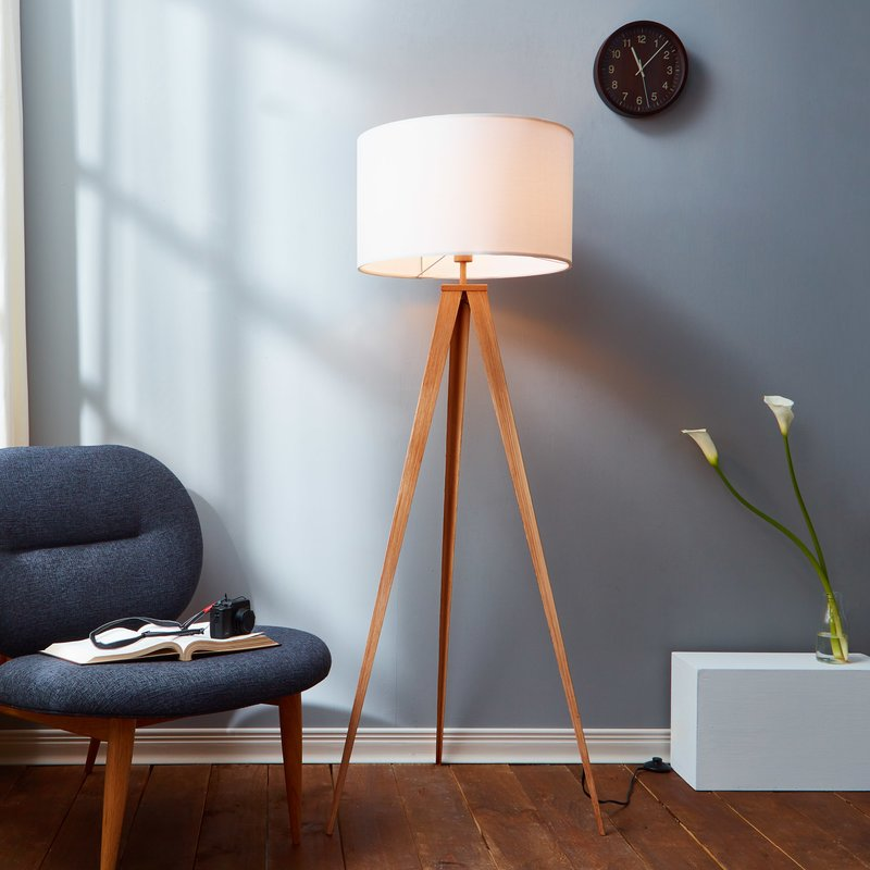 "Cardone 60"" LED Tripod Floor Lamp"