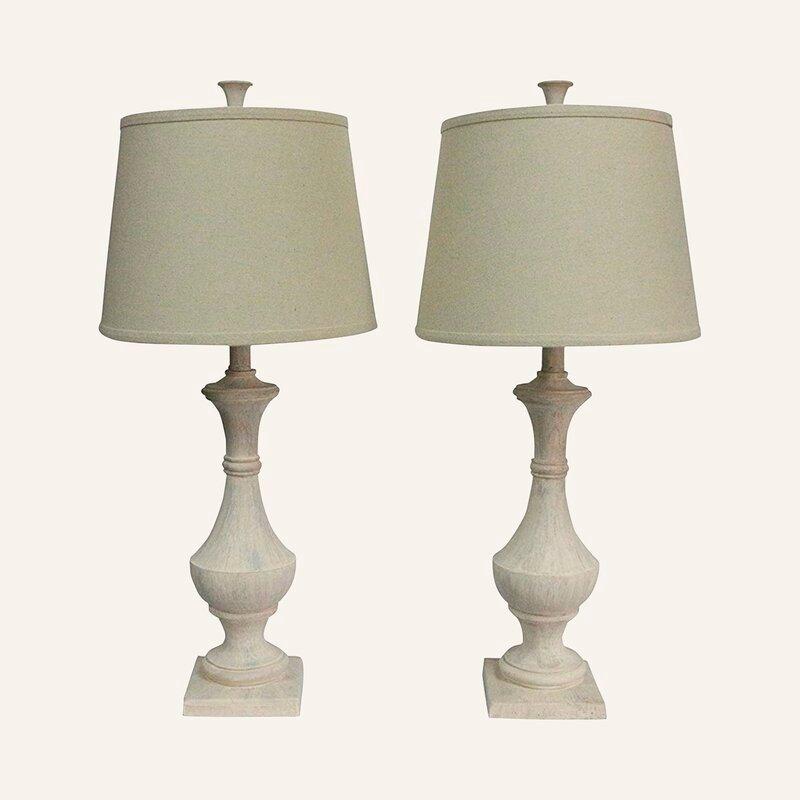 "Mirabelle 27"" Table Lamp Set (Set of 2)"