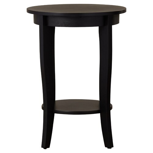 Haines End Table, Black