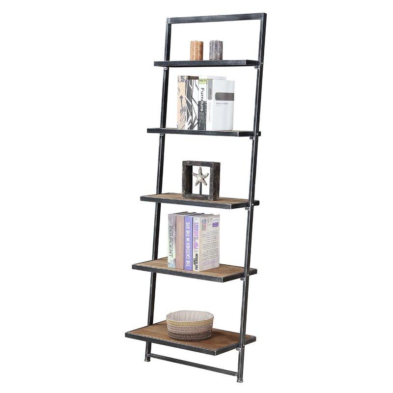 Harva Ladder Bookcase Wayfair