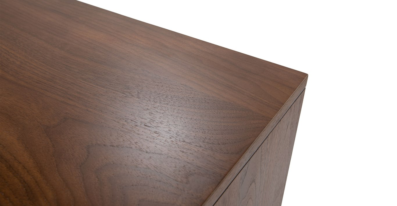 OSCURO CABINET -  BRONZE AND WALNUT