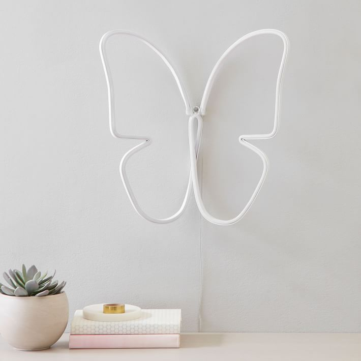3D Butterfly Micro LED Wall Light PREORDER Late May 2021