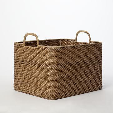 Modern Weave Storage Bin, Natural