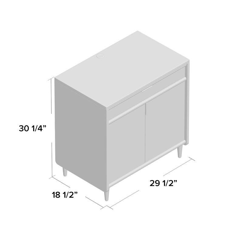 Cutrer 2 Door Accent Cabinet