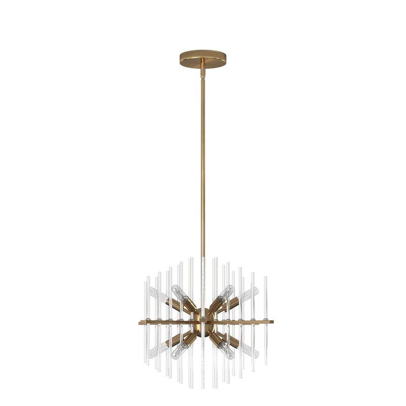 Yoselin 12 - Light Sputnik Sphere Chandelier