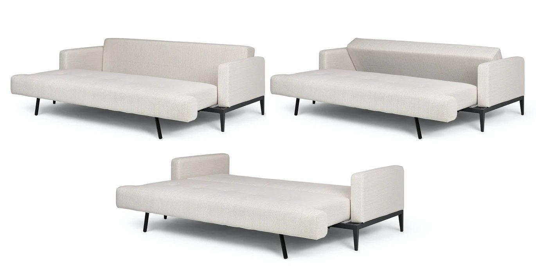 Solna Atelier Ivory Sofa Bed