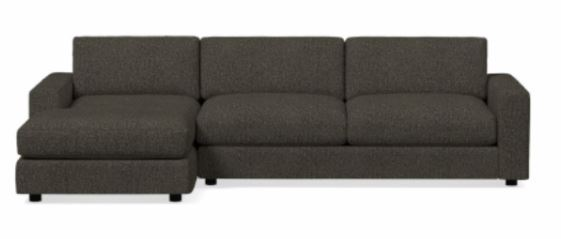 Urban 2-Piece Chaise Sectional - Left Arm Chaise