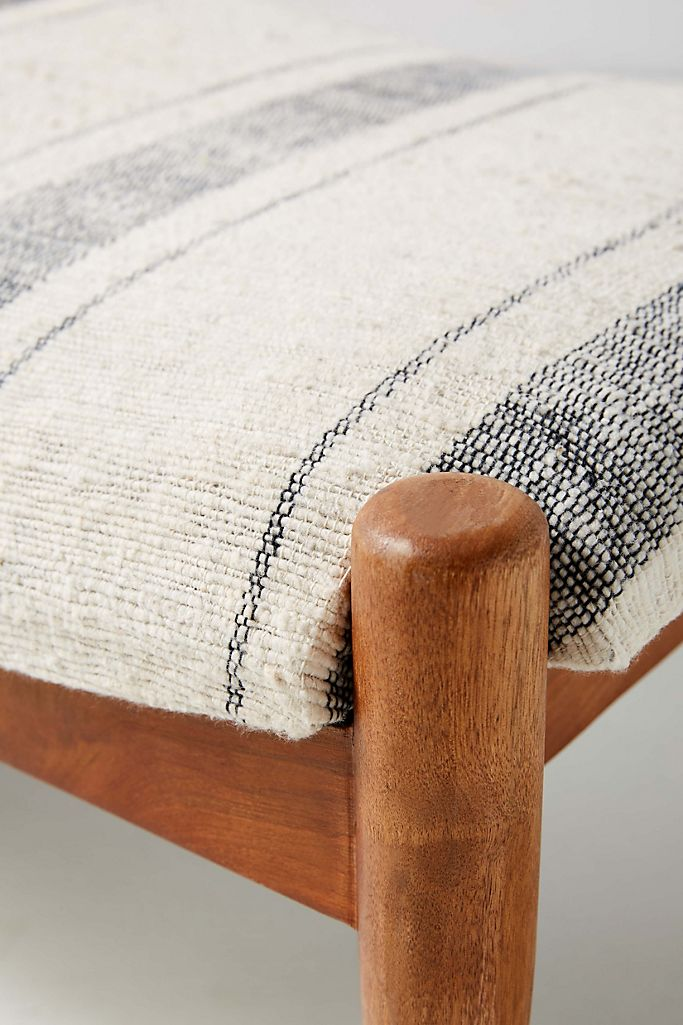 Boro Stripe Seneca Bench