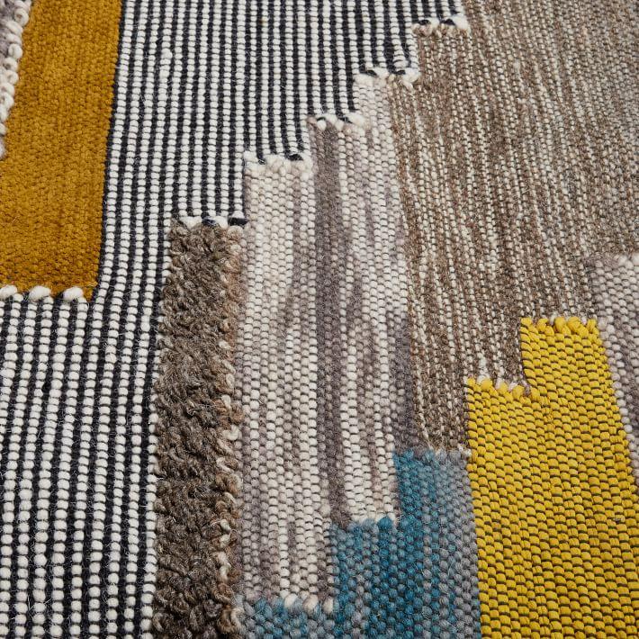 Pixel Steps Rug, Multi, 8'x10'