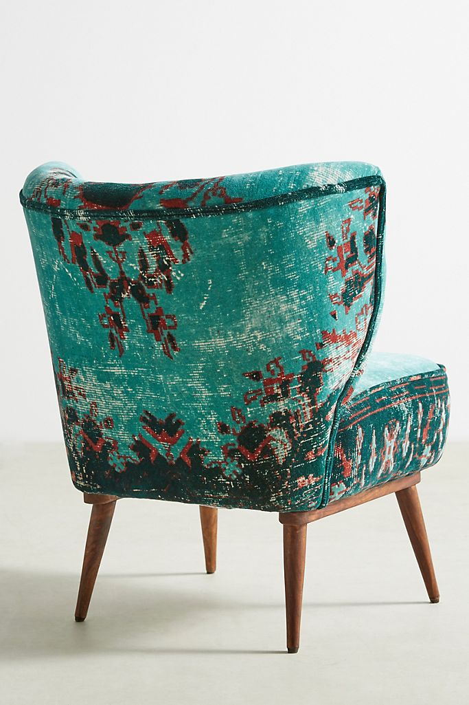Dhurrie Petite Accent Chair