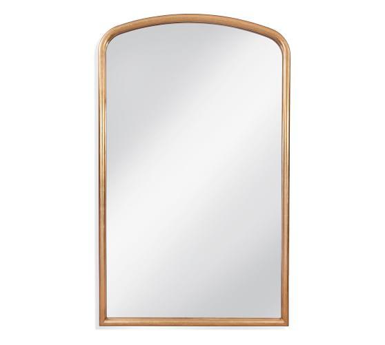 "Morro Bay Wall Mirror, Gold, 52"" x 86"""