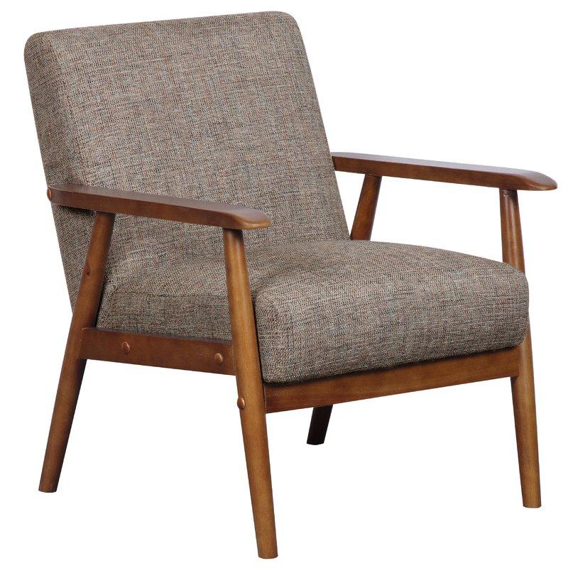 Derryaghy Wood Frame Armchair