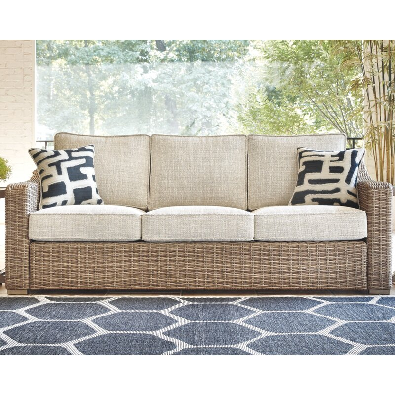 Gilchrist Patio Sofa with Cushions